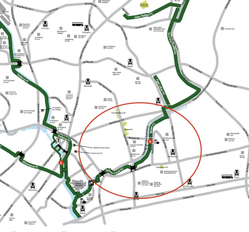 Pelton Canal Park Connector