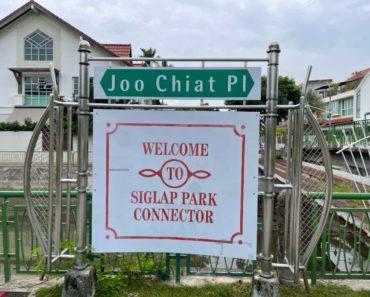 Siglap PCN to Kallang. A long walk.
