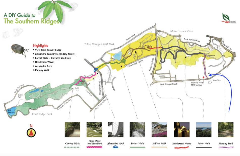 Marang Trail to Hort Park